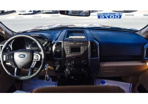 2017 FORD F150 XLT PICK UP - DOUBLE CABIN - 3.5L ECOBOOST V6 - GCC SPECS