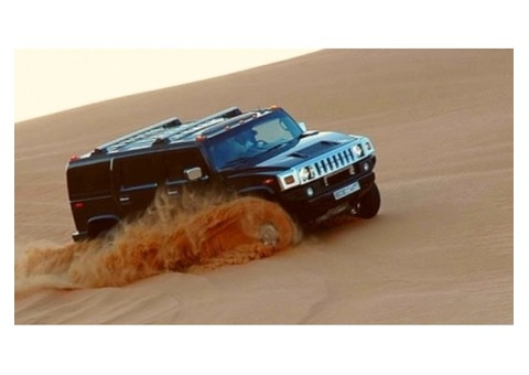 GROUP  PACKAGE DESERT SAFARI 700AED MAX 7 PERSON