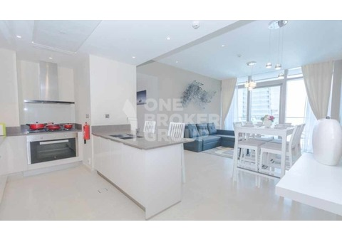 Stylish Furnishing, High Floor, Marina View
