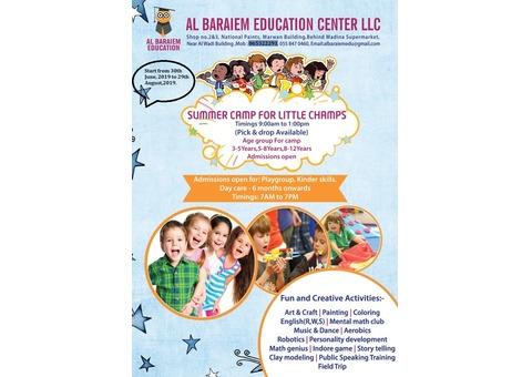 Summer camp classes in Muwailah - Sharjah