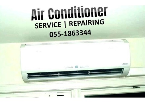 Split Ac Service Gas Filling Wall Fixing Removing Installation in Dubai
