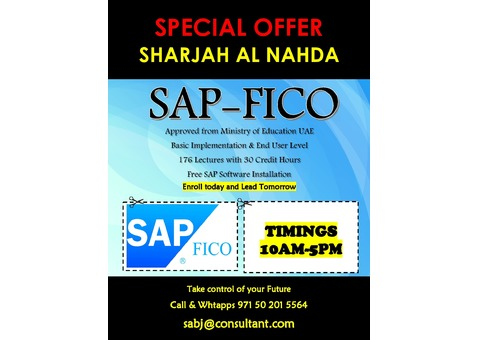 SAP-FICO Course Training for Accountants in Abu Dhabi