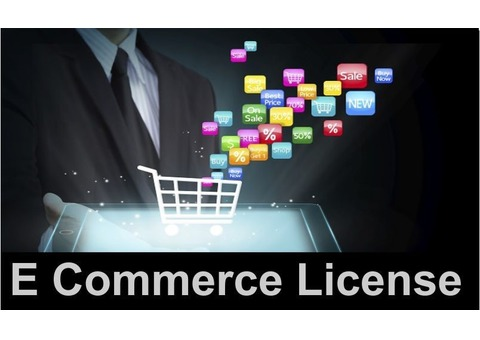 E-commerce online selling business license #0544472136