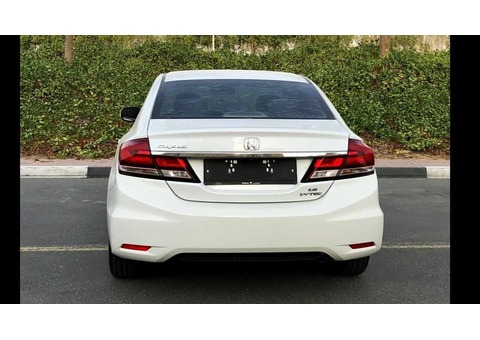 Honda Civic 2013-Service History-Mid Option-GCC-Original Paint-Accident Fre