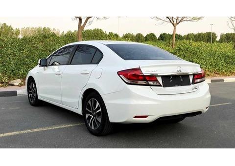 Honda Civic 2013-Service History-Mid Option-GCC-Original Paint-Accident Fre