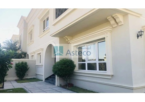 Independent 5BR Villa with Private Garden, Al Manara
