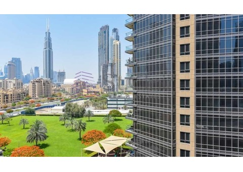 NO Construction | Burj Khalifa View | High Floor