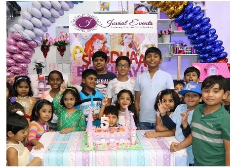 Birthday celebration in sharjah