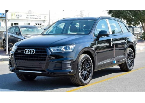 FOR EXPORT: AUDI Q7 TFSI quattro- 2018- 2.0L TURBO - 7 seater - ZERO km