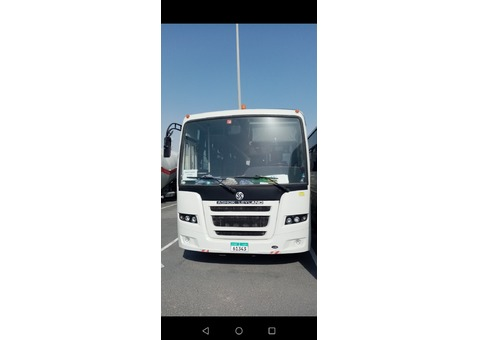ashok 66 seater available on rent