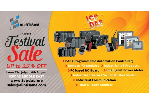 ICPDAS Middle East Sale Festival | UP to 25% OFF
