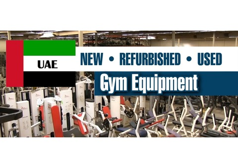 USED GYM EQUIPMENT FOR SALE ALL OVER UAE