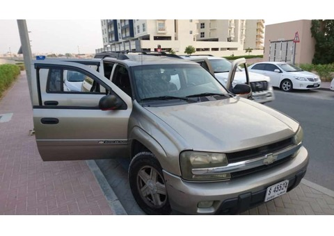 Chevrolet Trail Blazer 2003 6 LT. No defaults, just get in and drive. Very