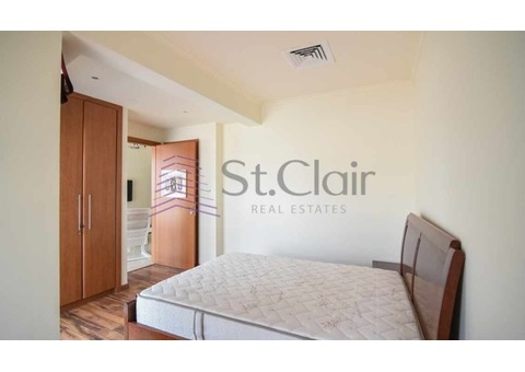 Fully Furnished 1 Bed | Canal View | Low Floor