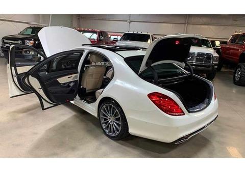 2017 Mercedes Benz s class 550