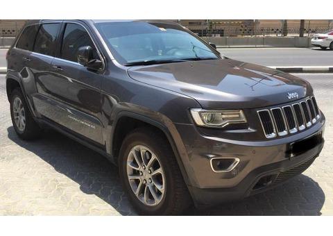 Jeep Grand Cherokee Laredo 2015 3.6 L, 78000 kms, 90 000 aed