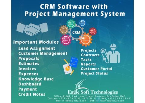Project Management Software with CRM Application