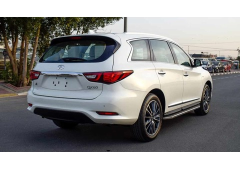Big Offer - Infiniti QX60 - 2018 - Dealer Warranty + VAT