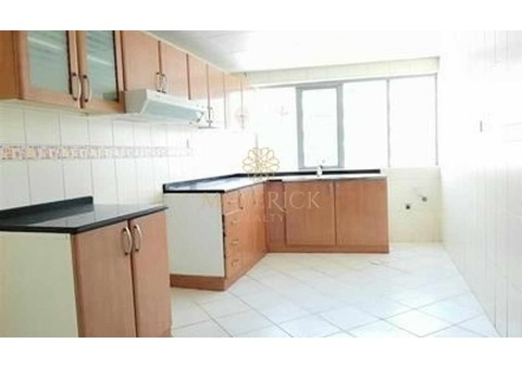 Beautiful 3BHK with Maids Room | 6 Cheques
