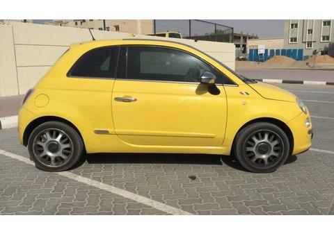 2012 FIAT 500 1.4L