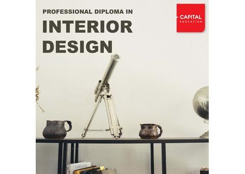 PROFESSIONAL DIPLOMA IN INTERIOR DESIGNING