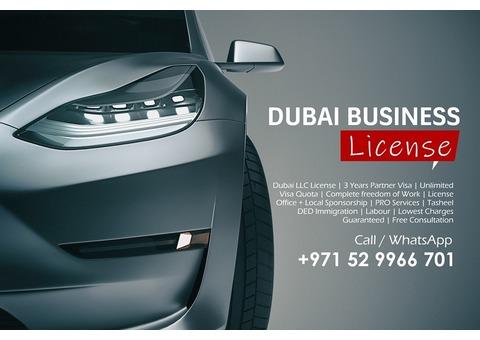 DUBAI BUSINESS LICENSE & PRO SERVICES