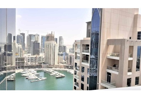 High floor, marina view, large layout ,tram/beach