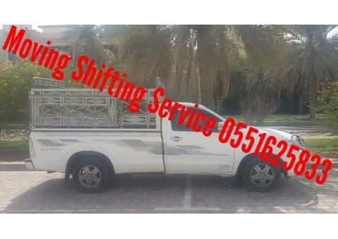 Pickup Moving Shifting Service Dubai 0551625833
