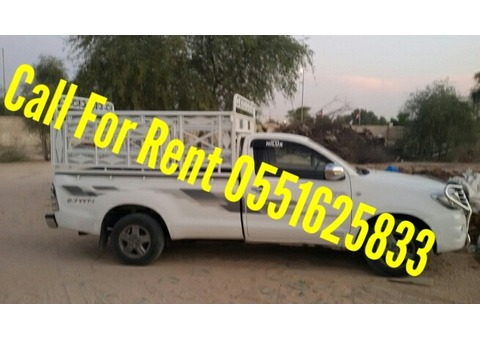 Pick Up Truck For Rent In Dubai/0551625833