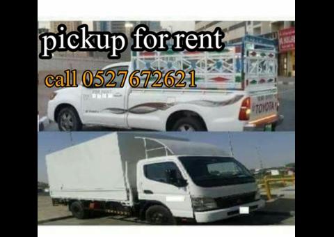 Dubai pickup truck for rent 0527672621
