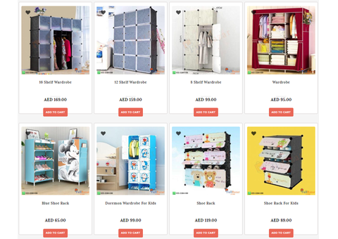 Buy Baby wardrobe. Pay On Delivery
