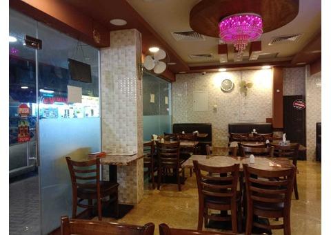 Sharjah Indian Restaurant for sale