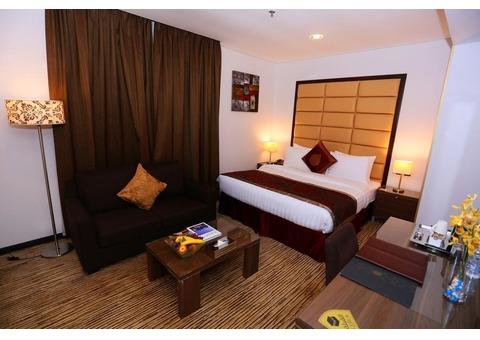 4 Star Hotel in Sharjah Near Creek | Museum | Rain Room | Mubarak Centre Rolla Road