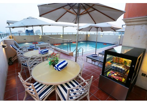 Romantic Bed & Breakfast Stay at 4 Star Hotel with Pool & Sauna