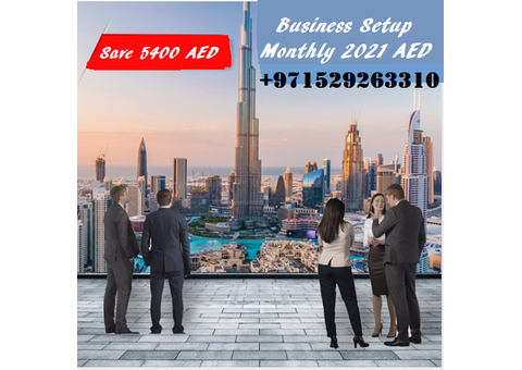 Business setup with Free Visa 2021 monthly