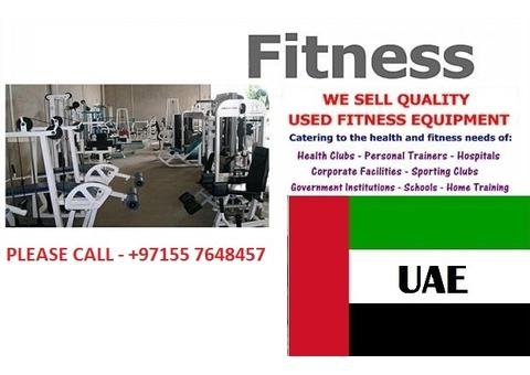 GYM EQUIPMENTS FOR SALE ALL OVER UAE & MIDDLEAST