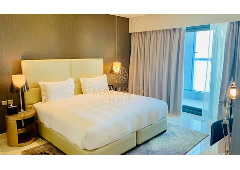 Luxurious and Furnished 1 Bedroom | Brand New