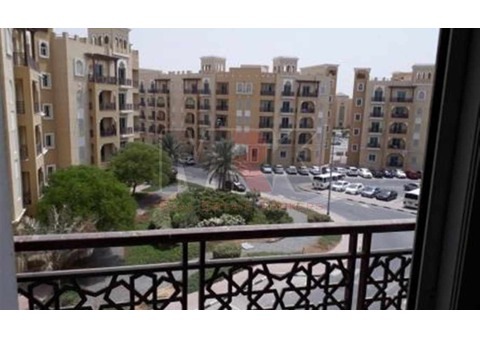 Studio For Rent With Balcony In Emirtaes Cluster Intl City Rent: 23k 4Chqs