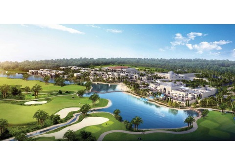 Villas for ownership amid golf courses in Dubai starting from 1.1 million dirhams in installments