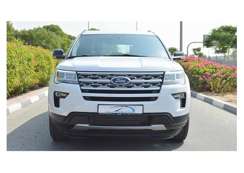 2018 Ford Explorer XLT, AWD GCC, 0km with Warranty and Service