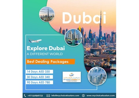 Dubai Tourist Visa, Dubai Visit visa