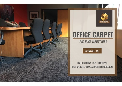 Find Variety of Office Carpet in Dubai