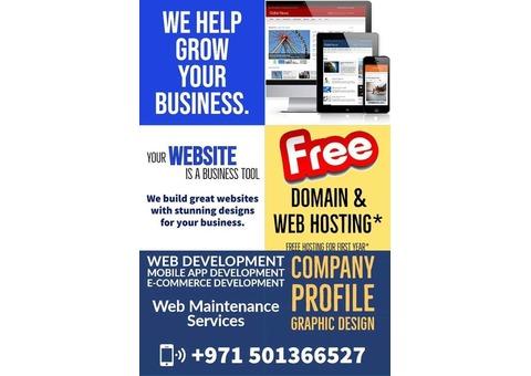 WEBSITE DESIGN & COMPANY PROFILE