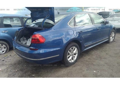 2016 VOLKSWAGEN PASSAT FRESH US IMPORT FOR SALE