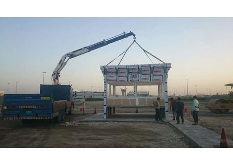 Hiab crane truck