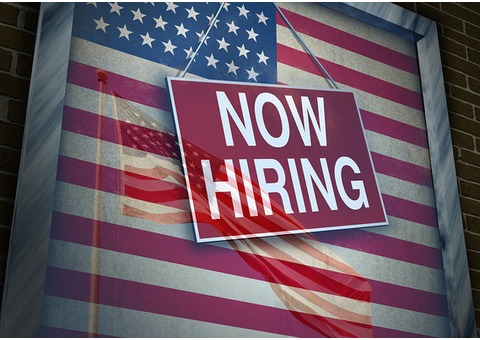 GOOD NEWS:EMPLOYMENT NOW IN USA