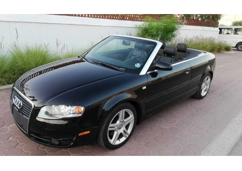 AUDI A4 2008,IMPORTED,ACCIDENT FREE,CONVERTIBLE,WELL MAINTAINED