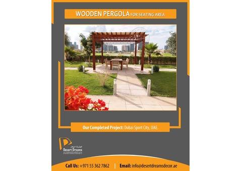 Wooden Pergola Abu Dhabi | Wooden Pergola Dubai | Pergola Al Ain.