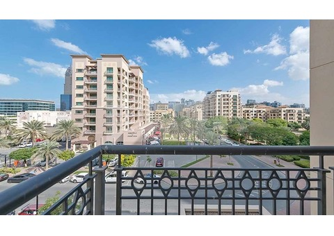 One BR with Large Balcony | Chiller Free