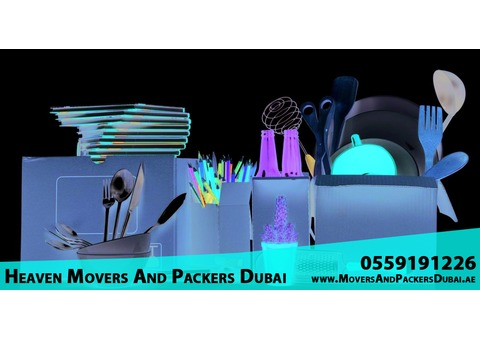 Heaven Movers and packers Dubai 0559191226